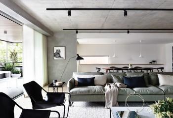 Потолочные споты для гостиной в стиле минимализм