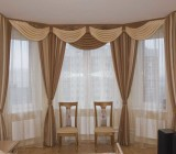 Как повесить шторы на карниз потолочный