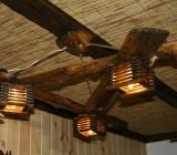 Деревянные потолочные светильники: варианты конструкций, советы по изготовлению и обработке