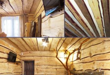 Двухслойные потолочные настильные конструкции выглядят оригинально