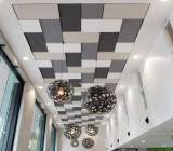 Алюминиевые кассетные потолки: правила установки