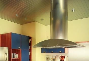 Потолок с фактурой металла