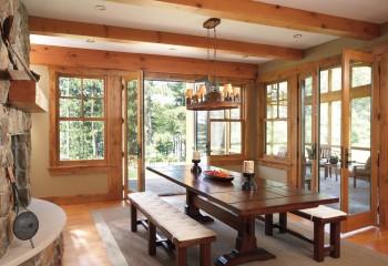 Эксклюзивный деревянный светильник может стать главным украшением дома
