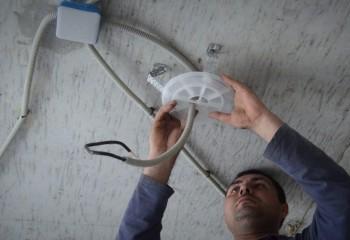 Монтаж закладных и устройство проводки
