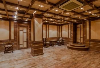 Кессонная конструкция из деревянных элементов