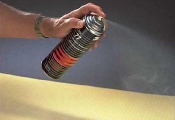 Клей-спрей для звукоизоляционных материалов