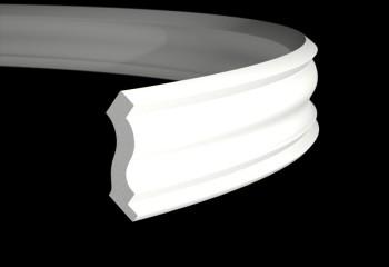Гибкий плинтус для потолка шириной 50 мм