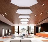 Ламинат на потолок – нестандартное использование напольного покрытия