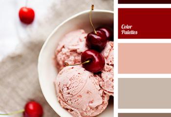Вишневый, бордовый, серо-коричневый