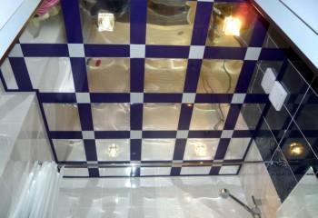 Декоративный каркас в тон настенной плитки