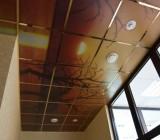 Варианты оформления балконной потолочной конструкции