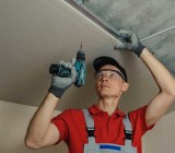 Подвесной потолок из гипсокартона своими руками: описание процесса от начала до конца