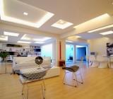 Отделка потолка гипсокартоном – особенности материала, монтаж подвесной конструкции и способы её финишной обработки