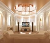 Многоуровневые потолки из гипсокартона – воплощаем мечты в жизнь