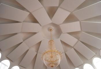 Разноуровневый куполообразный потолок
