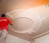 Как шпаклевать потолок из гипсокартона: 11 советов новичку