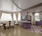 Как устанавливаются натяжные двухуровневые потолки