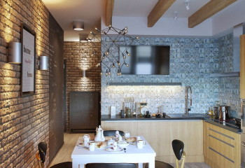 Оформление рабочей зоны кухни