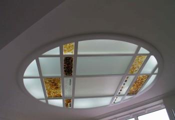 Оригинальный способ оформления потолочного светильника