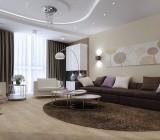 Бесшовные натяжные тканевые потолки– практично и красиво
