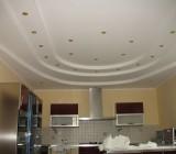 Потолок из гипсокартона на кухне: преимущества, недостатки, особенности монтажа