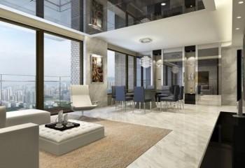 Натяжные и подвесные зеркальные потолки – сделай свой дом красивым