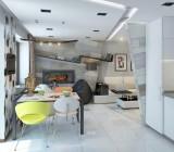 Освещение потолка на кухне: виды осветительных приборов