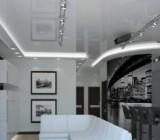 Потолок в стиле хай-тек: советы по оформлению помещений