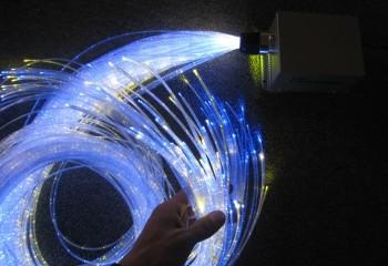 Так выглядит оптоволоконный кабель