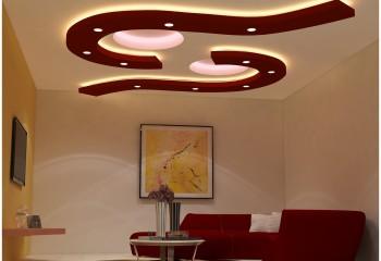Трехуровневая конструкция с подсветкой