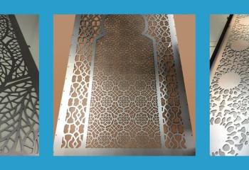 Красота алюминиевых перфорированных панелей