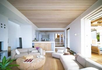 Подшивной потолок не крадет высоту помещения сильно