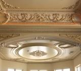 Декоративный потолочный плинтус: виды и способы монтажа изделий, их роль в дизайне интерьера