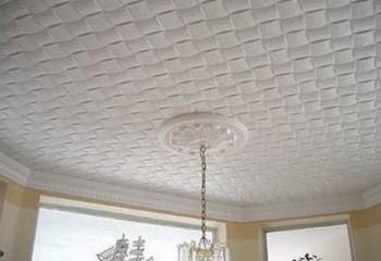 Бесшовная потолочная плитка с рисунком