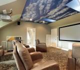 Натяжные потолки «небо»: варианты для современных интерьеров