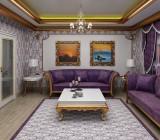 Натяжные потолки для зала – прекрасный выбор