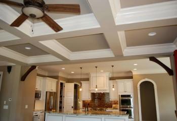 Встроенная подсветка в гипсокартонном потолке