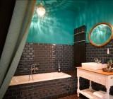 Дизайн потолка в ванной комнате: возможные решения и способы их воплощения