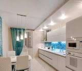 Потолки на кухню из гипсокартона: преимущества и недостатки, конструкция и технология монтажа