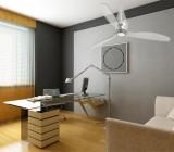 Потолочный вентилятор со светильником – интересное функциональное решение для вашего интерьера