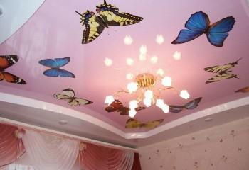 Яркий рисунок для детской комнаты