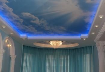 Комбинирование разных потолочных светильников