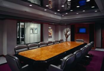 Красиво встроенные светильники определяют внешний вид потолка