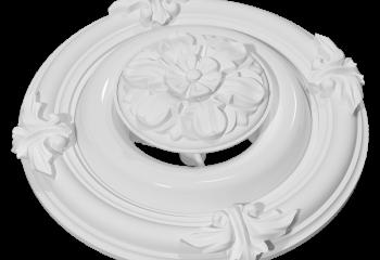 Белый пластиковый декорированный диффузор