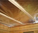Утепление потолка бани – делаем настоящую парилку