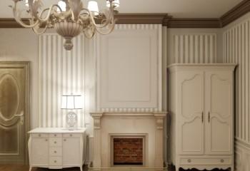 Полиуретаном можно облицевать не только стыки потолка, но и камин