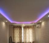 Потолки из гипсокартона с подсветкой для спальни: быстро, дешево, красиво