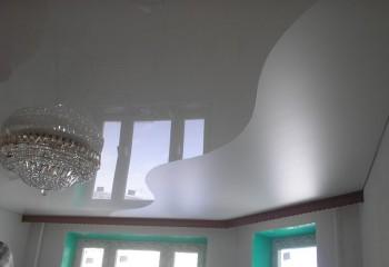 Конструкция натяжная комбинированная криволинейной спайки
