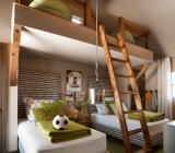 Потолок в детской комнате: яркий, тематический, стильный