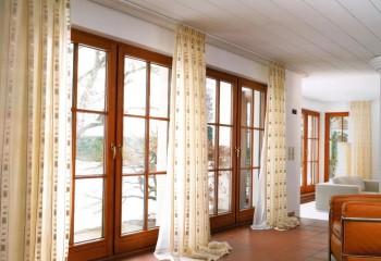 Креплениек деревянной обшивке потолка